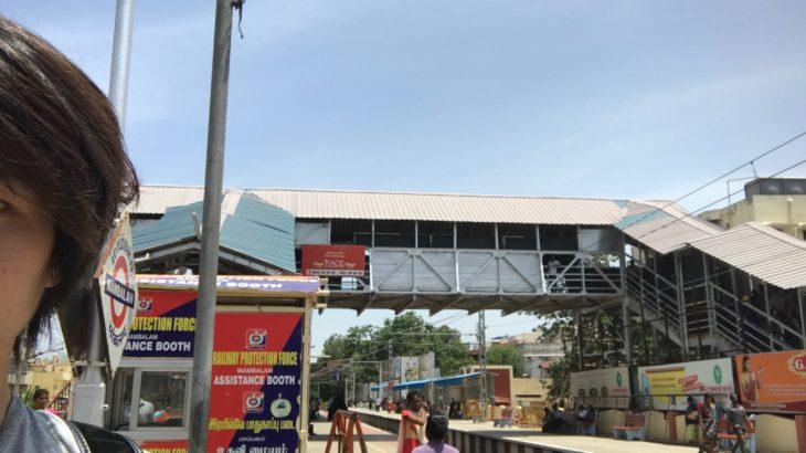 チェンナイのマンバラム駅周辺をサクッと散歩してきた!【インド観光,Mambalam railway station】
